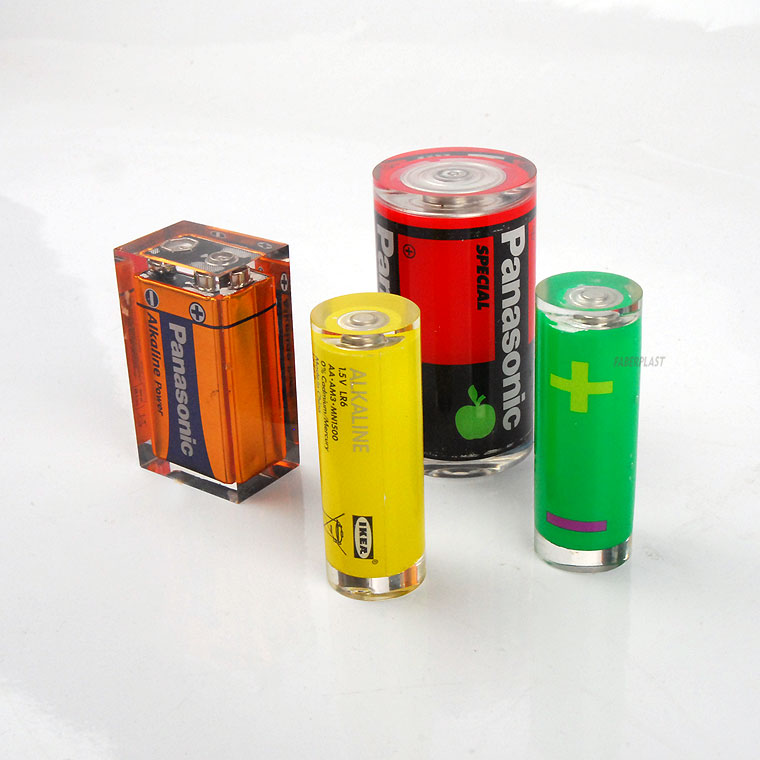 acrylic oclussion batteries