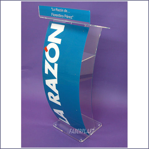 events lectern methacrylate la razon