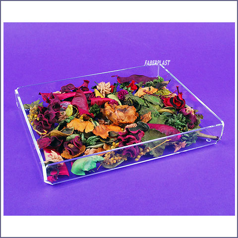 acrylic plexiglas decorative tray
