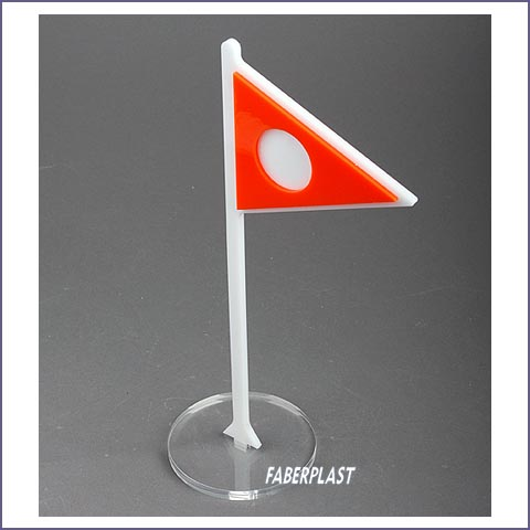 acrylic plexiglas display pennant
