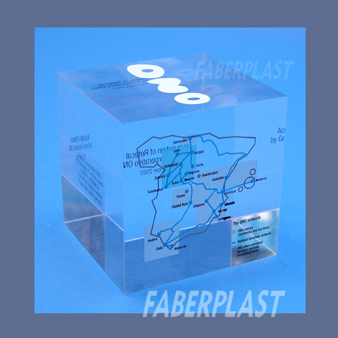corporate bloc methacrylate plexiglas pmma ono