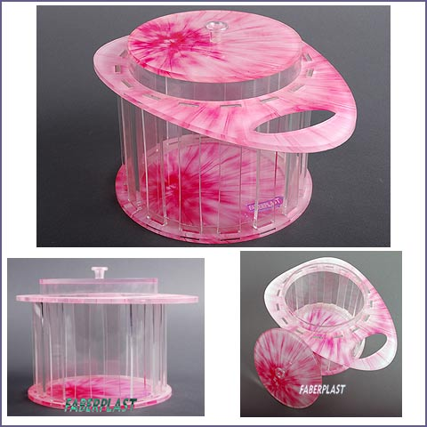 decorative box plexiglas for gifts pinker