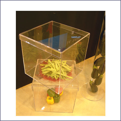 acrylic plexiglas vegetables box