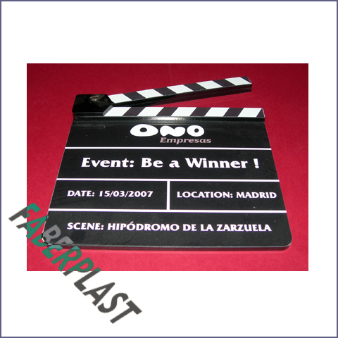 clapperboard ono