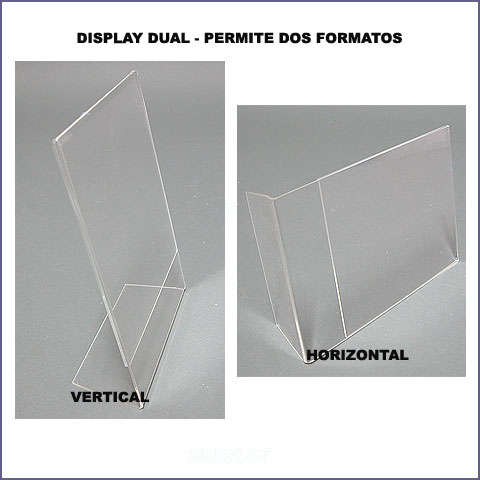 sheet holder plexiglas vertical or horizontal