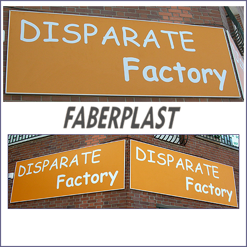 label disparate factory