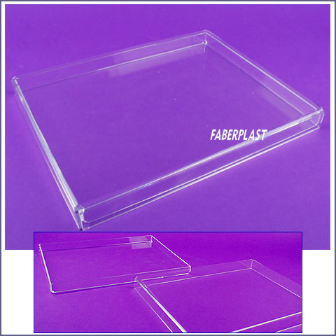 acrylic plexiglas box case for books