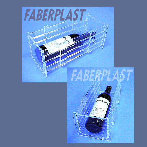 acrylic plexiglas exhibition box selection wine