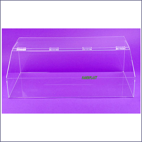 acrylic plexiglas food box big format