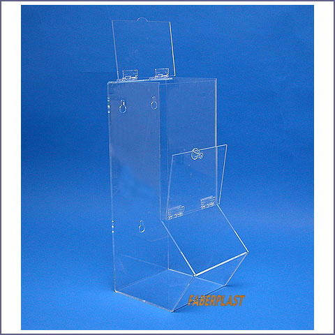 plexiglass food container alto