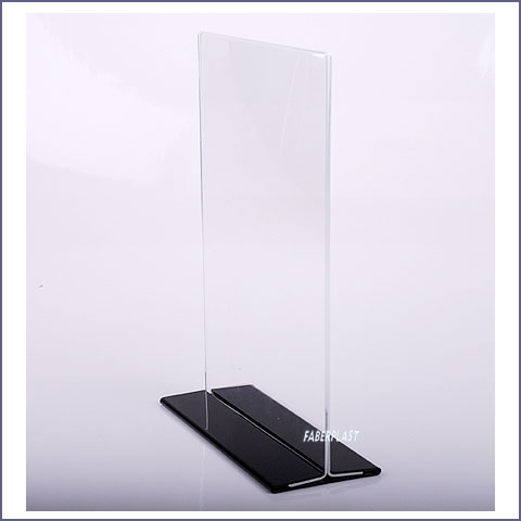 acrylic plexiglas blade holder black foot