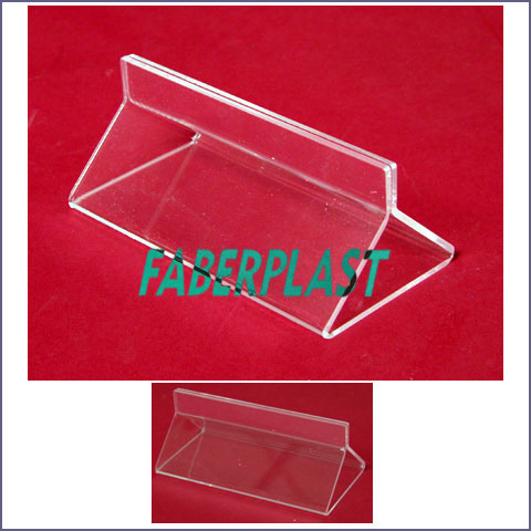 display plexiglas  sign holders