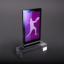 Perspex Trophy SONY