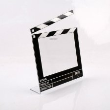 ACRYLIC PLEXIGLAS PHOTO HOLDER CINE