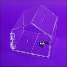 Perspex Piggy Bank HOME