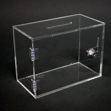Perspex Piggy Bank SIMPLY