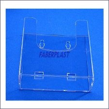Brochure Holder Plexiglass 1/3 A4 Vertical