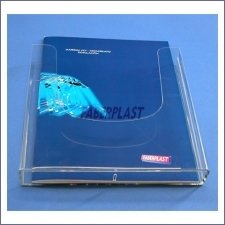 Brochure Holder Plexiglass A4 Vertical