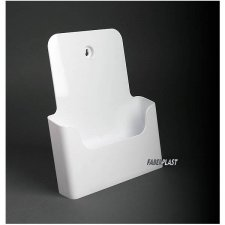 BROCHURE HOLDER ACRILIC POLYSTYRENEBRIGHT WHITE A5 VERTICAL