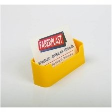 BUSINESS CARD HOLDER ACRILIC POLYSTYRENEBRIGHT YELLOW