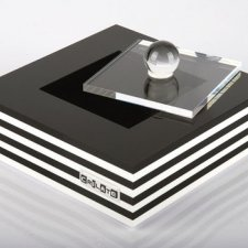 Acrylic plexiglas box CRILATE with lid