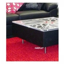 Plexiglas COFFE TABLE HIMALAYA