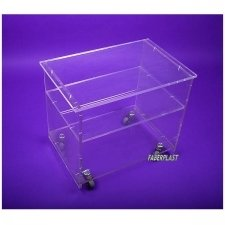 ACRYLIC PLEXIGLAS TABLE ROBUS
