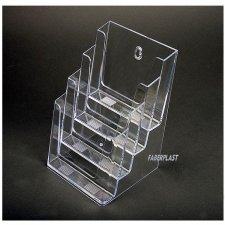 Acrylic Brochure Holder A5 vertical (4 holders)