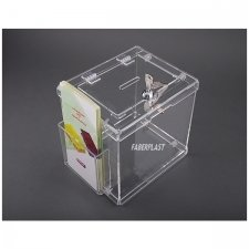 Perspex Piggy Bank EASY pocket