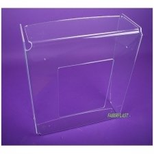 Acrylic perspex BOOTH CASE