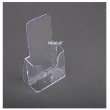 Brochure Holder Methacrylate 1/3 A4 vertical (ECONOMY)