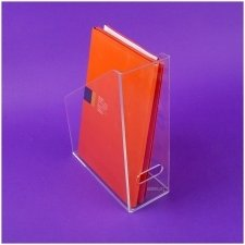 Acrylic plexiglas box FOLDERS-FILES