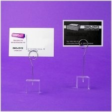 Acrylic plexiglas Card Holder BLOCK
