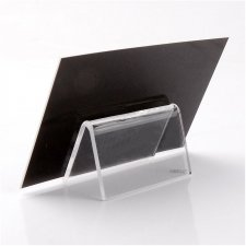 Acrylic plexiglas Card Holder SUPERMINI