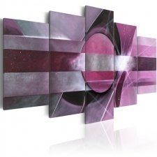Canvas Print Purple abstraction