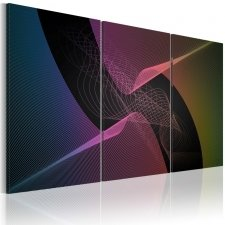 Canvas Print - Colorful modern abstraction