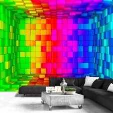 Wallpaper - Rainbow Cube
