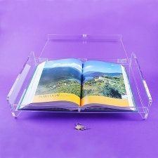Perspex showcase EXHIBITION BOOKS