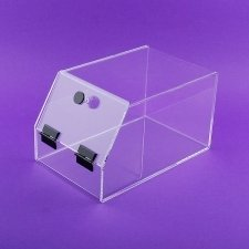 Perspex food container SWEET THINGS