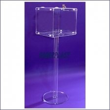 Perspex ballot box EASY SOIL