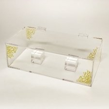 Plexiglas box for AVE FEATHERS