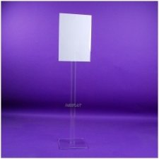 Perspex Lectern EXHIBITION (STRAIGHT)