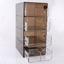 Plexiglas Coffee Display Exhibitor Luthier