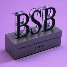 Perspex Trophy BRITISH SCHOOL BARCELONA