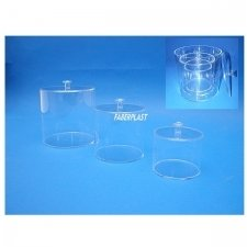 Perspex box CYLINDRICAL