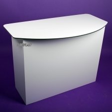 Acrylic desk HARRY pvc foamed