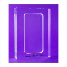Acrylic Plexiglas Display Bloc Samsung Galaxy