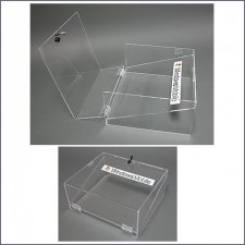 Acrylic Box Plexiglas Windows Mobile