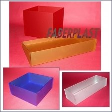 Boxes Plexiglas Satin Colors