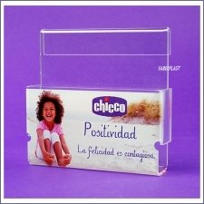 Acrylic Plexiglas Brochure Holder Chicco
